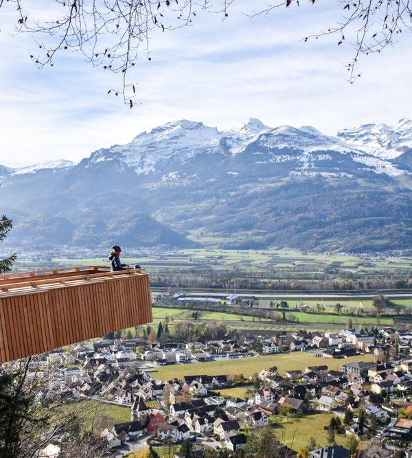 Ausflugstipp Walderlebnispfad Vaduz: Themenweg mit grandioser Aussicht in Liechtenstein