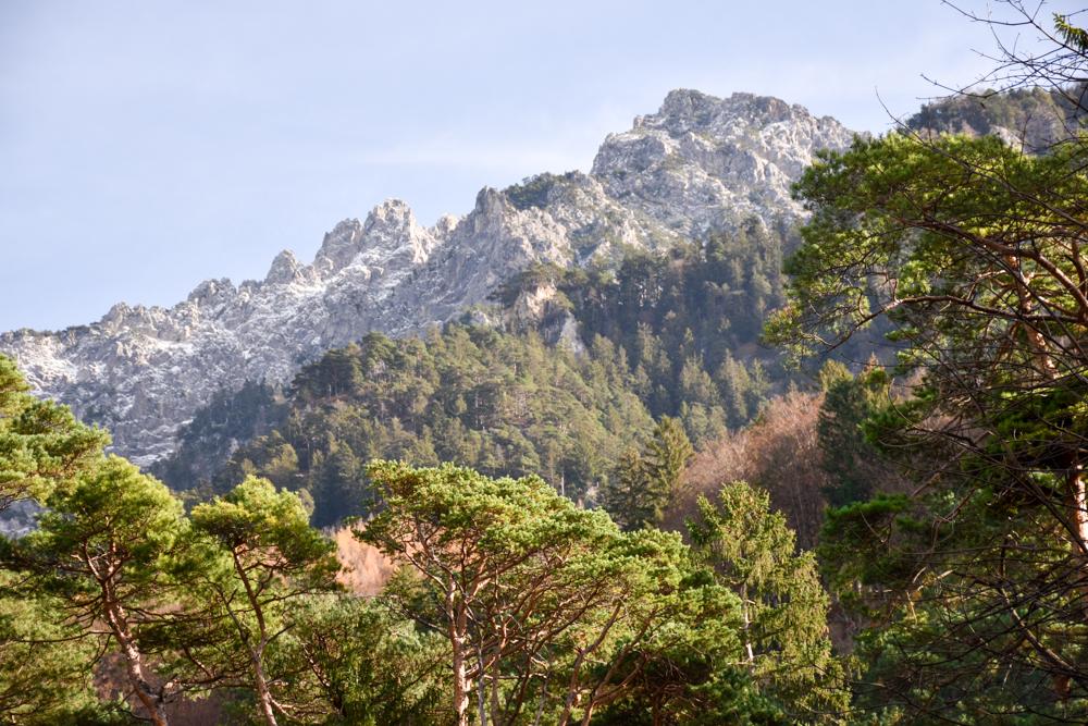 Ausflugstipp Walderlebnispfad Vaduz Liechtenstein schöne Aussichten auf die Bergwelt