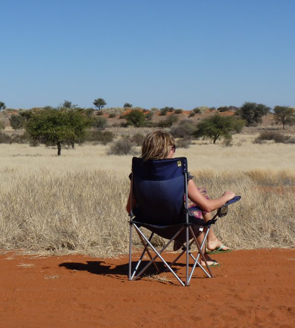 Camping Namibia Aussicht geniessen Travel Sisi Esther Mattle