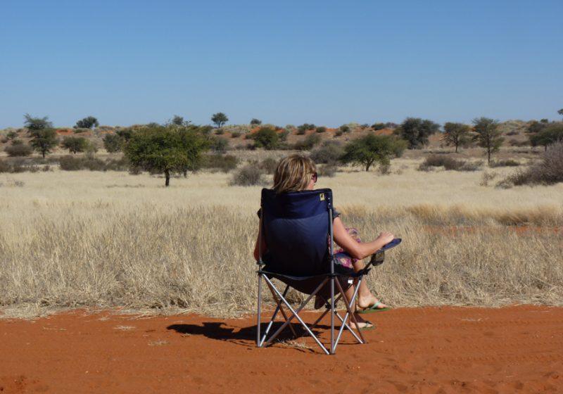 Camping Namibia Aussicht geniessen Travel Sisi Esther Mattle