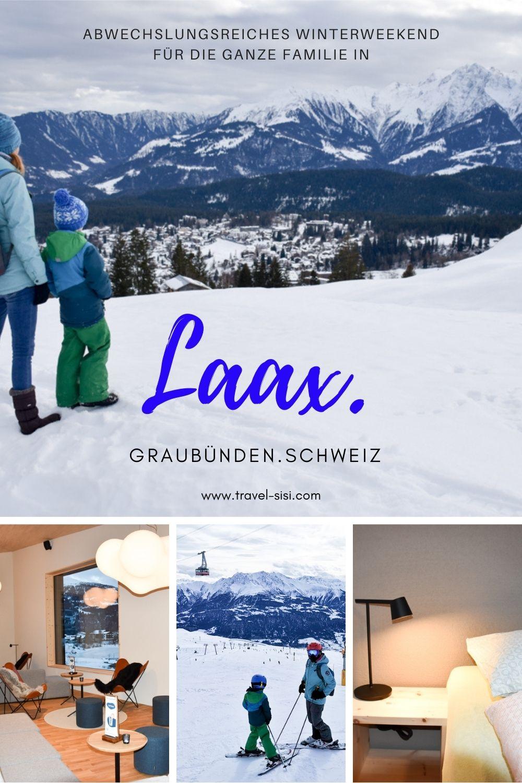 Familienfreundliches Winterweekend Laax Graubünden Schweiz