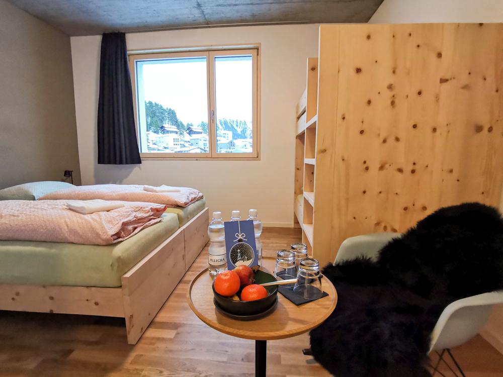 Winterweekend Laax wellnessHostel3000 Graubünden Schweiz Familienzimmer