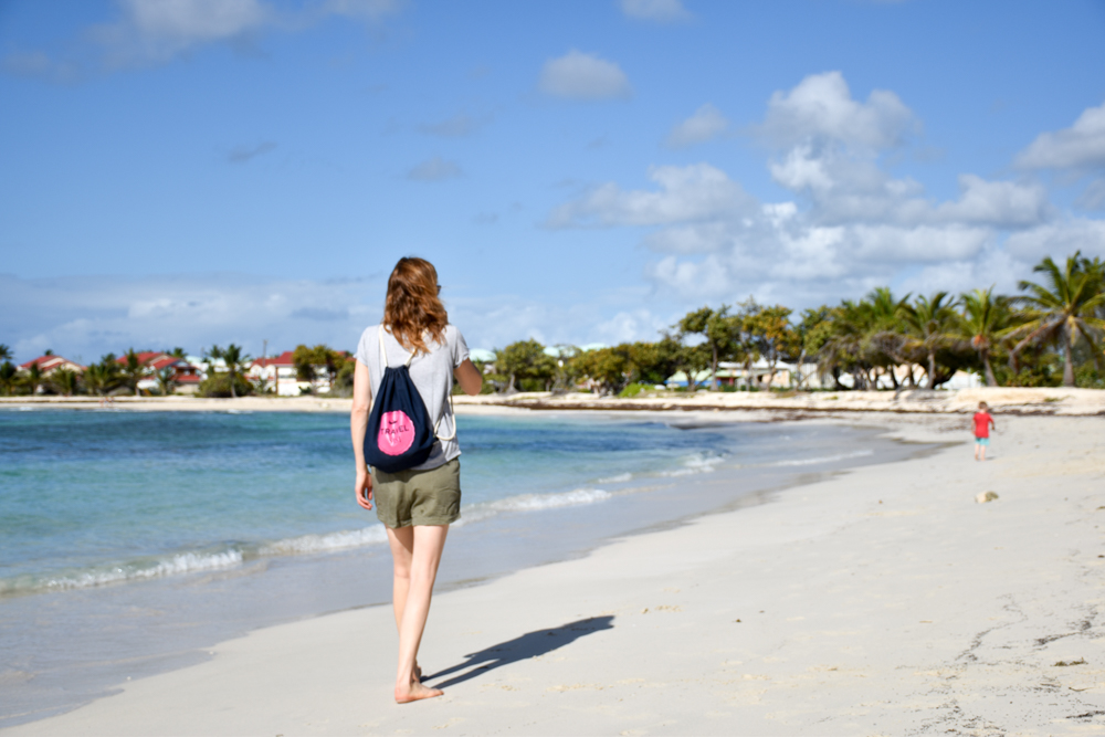 Beste Unterkunft Guadeloupe Grande-Terre Iguana Ecolodge Saint-Francois Strand