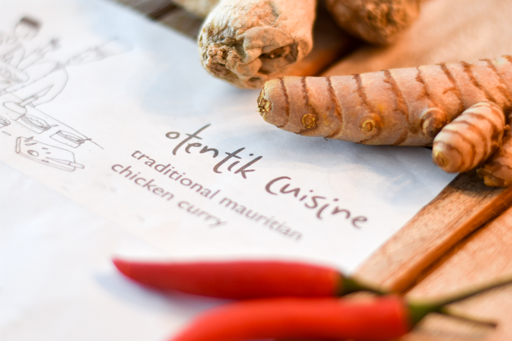 Internationales Rezept Chicken Curry Mauritius Rezept