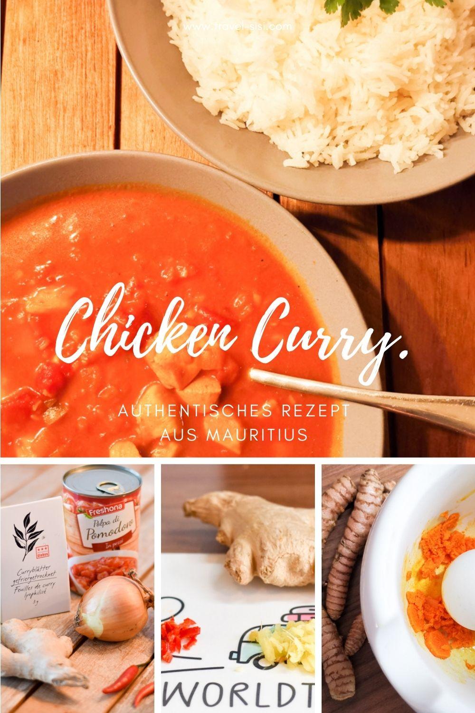 Rezept international Chicken Curry aus Mauritius