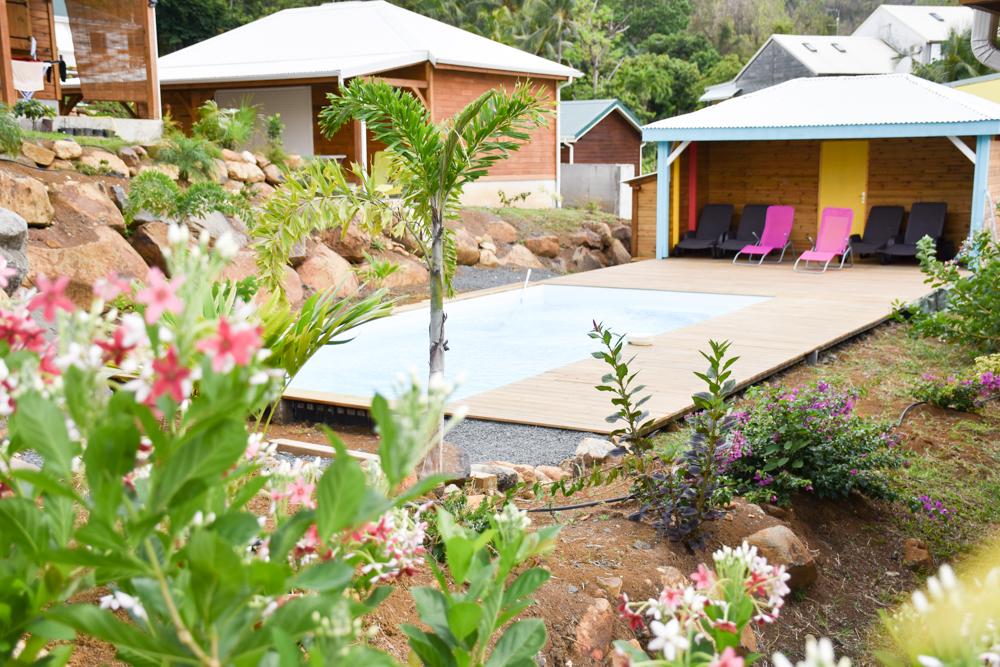 Unterkunft Guadeloupe Basse-Terre Amour Deshaies Pool