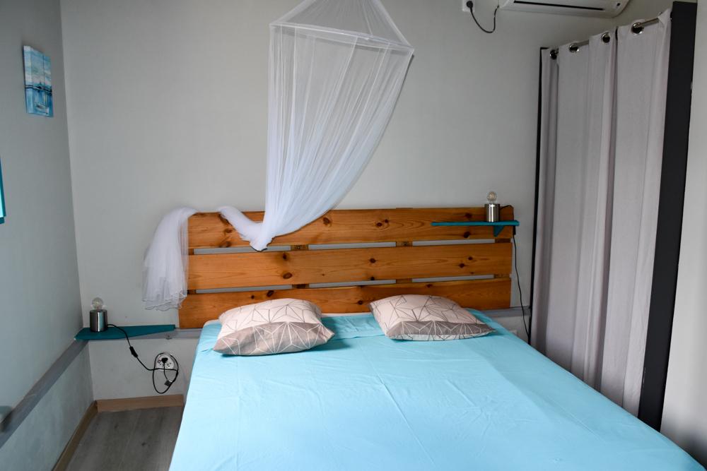 Beste Unterkunft Guadeloupe Basse-Terre Amour Deshaies Schlafzimmer Bungalow
