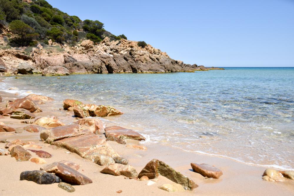 Sardinien Süden Reisetipps Highlights Unterkunft Restaurant Strand Cala del Morto