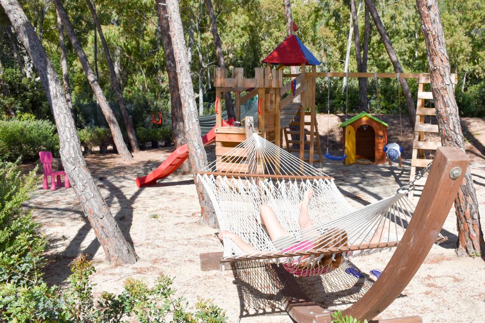 Sardinien Süden Reisetipps Highlights Unterkunft Restaurant Strand Eliantos Chia Boutique Hotel Spielplatz