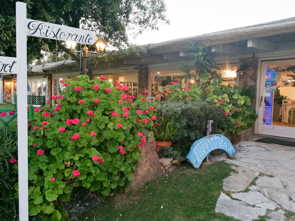 Sardinien Süden Reisetipps Highlights Unterkunft Restaurant Strand Ristorante Crar'e Luna