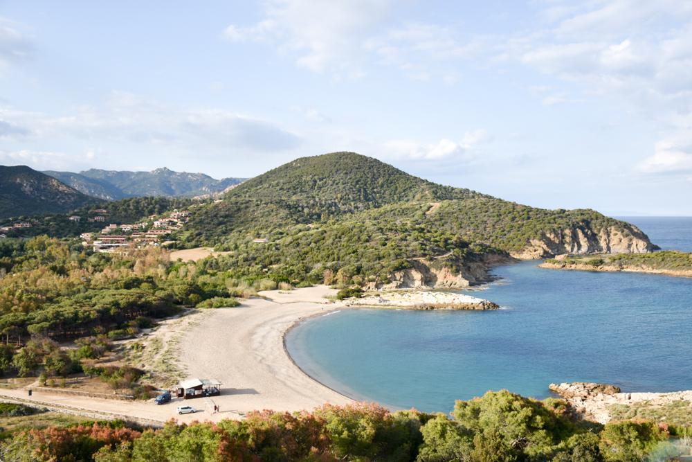 Sardinien Süden Reisetipps Highlights Unterkunft Restaurant Strand Spiaggia Su Portu Chia