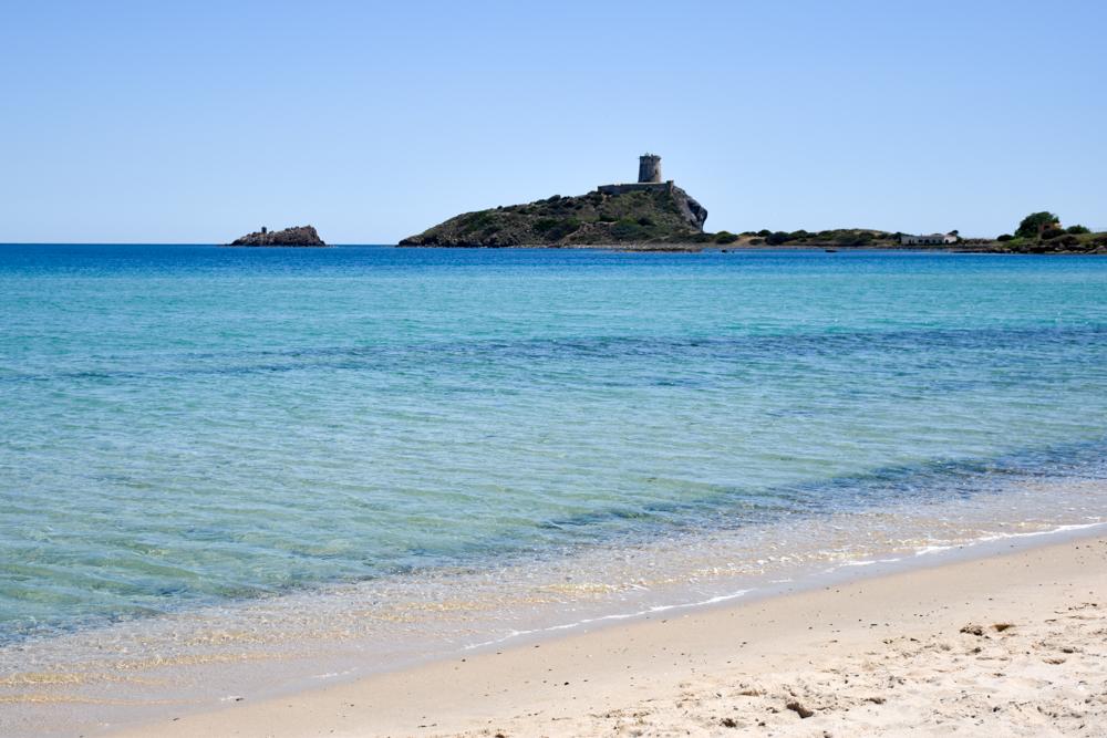 Sardinien Süden Reisetipps Highlights Unterkunft Restaurant Strand Spiaggia di Nora Torre del Coltellazzo