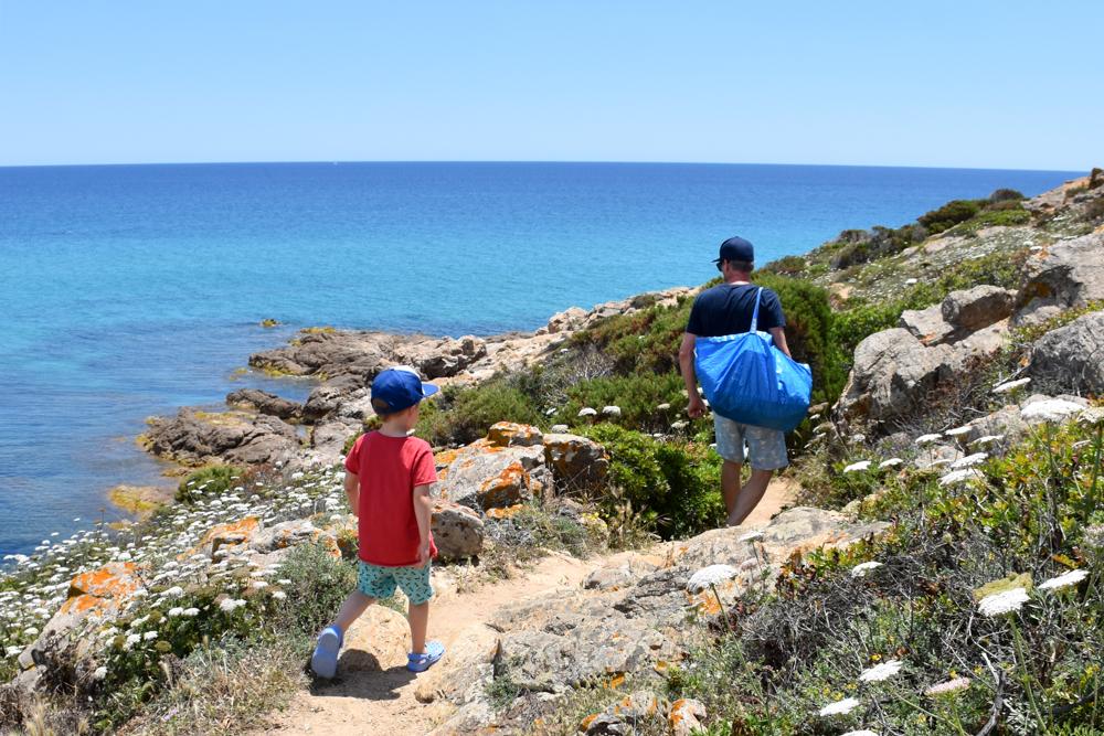 Sardinien Süden Reisetipps Highlights Unterkunft Restaurant Strand Wanderung zur Cala del Morto