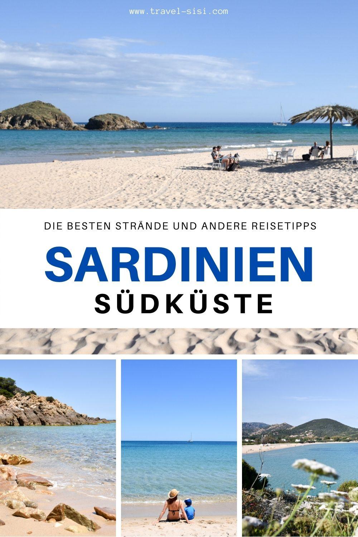 Sardinien Südküste Strände und viele Reisetipps