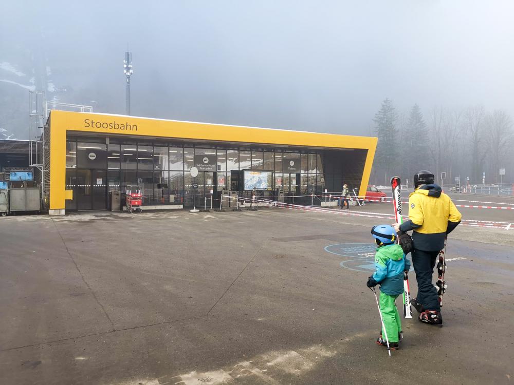 Familien-Skigebiet Stoos Schwyz Zentralschweiz Schweiz Stoosbahn