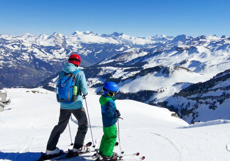 Familien-Skigebiet Stoos Schwyz Zentralschweiz Schweiz