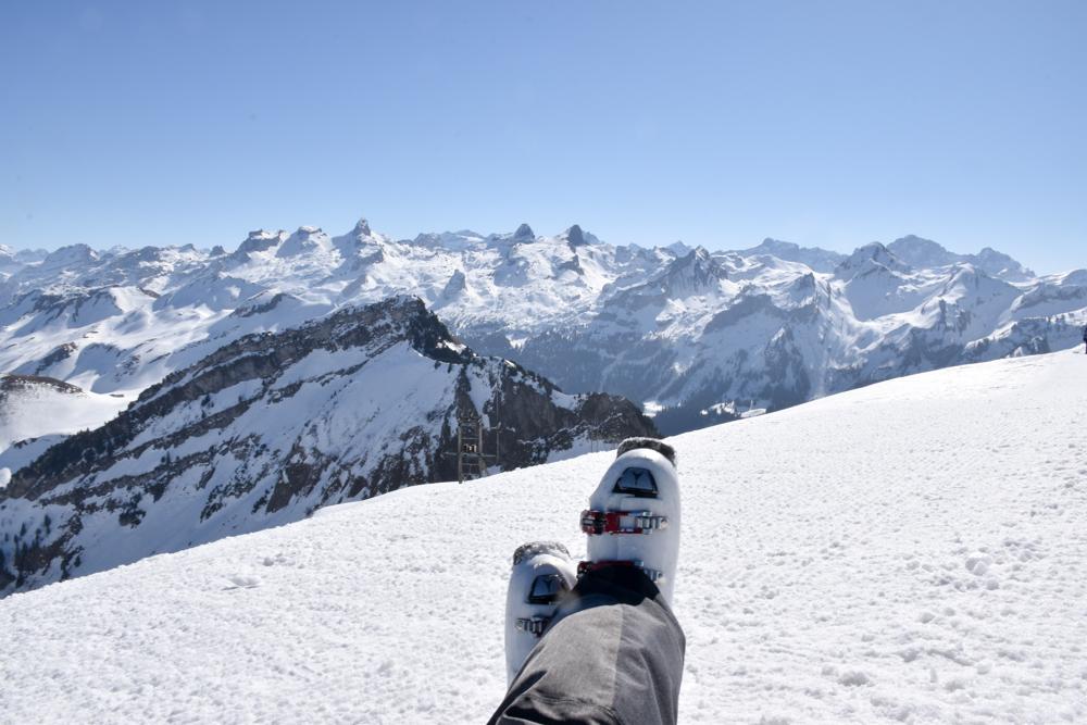 Skigebiet Stoos Ausflug Familie Schwyz Zentralschweiz Schweiz Aussicht geniessen Fronalpstock