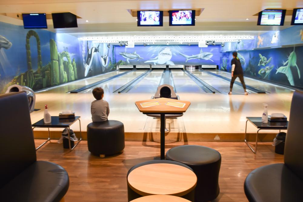 Unterkunft Reka-Ferienresort Swiss Holiday Park Morschach Schwyz Schweiz Bowling