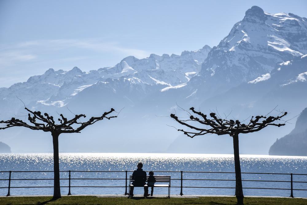 Unterkunft Reka-Ferienresort Swiss Holiday Park Morschach Schwyz Schweiz Brunnen Vierwaldstättersee