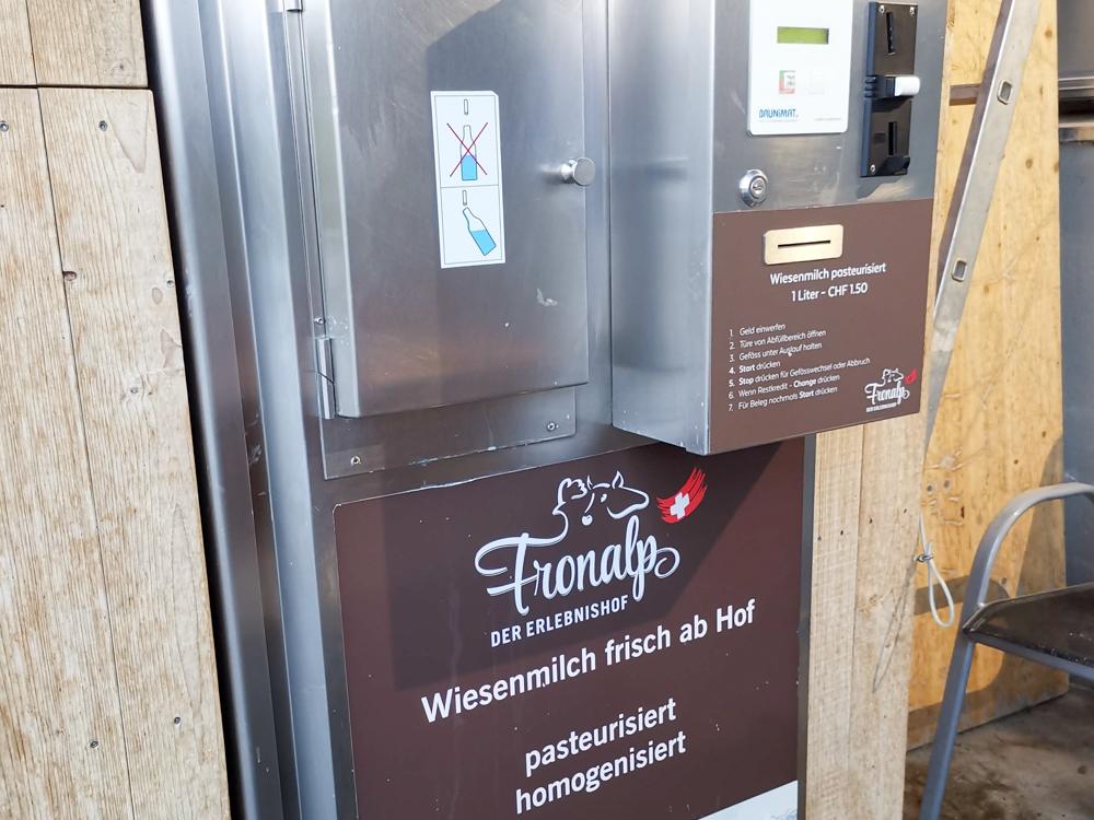 Unterkunft Reka-Ferienresort Swiss Holiday Park Morschach Schwyz Schweiz Frischmilch Erlebnishof Fronalp