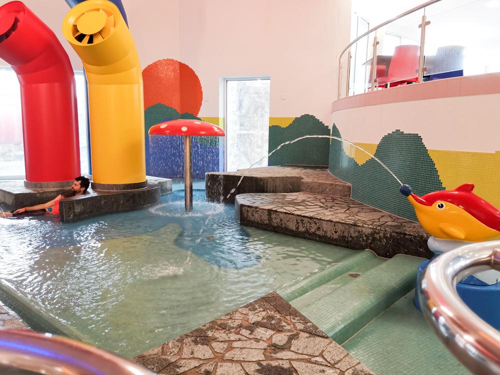 Unterkunft Reka-Ferienresort Swiss Holiday Park Morschach Schwyz Schweiz Kinderplanschbecken