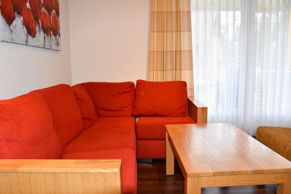 Unterkunft Reka-Ferienresort Swiss Holiday Park Morschach Schwyz Schweiz Wohnzimmer