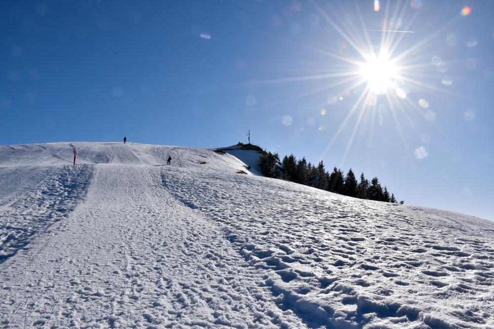 Winterwanderung Rigi Ausflug Familie Zentralschweiz Rotstock