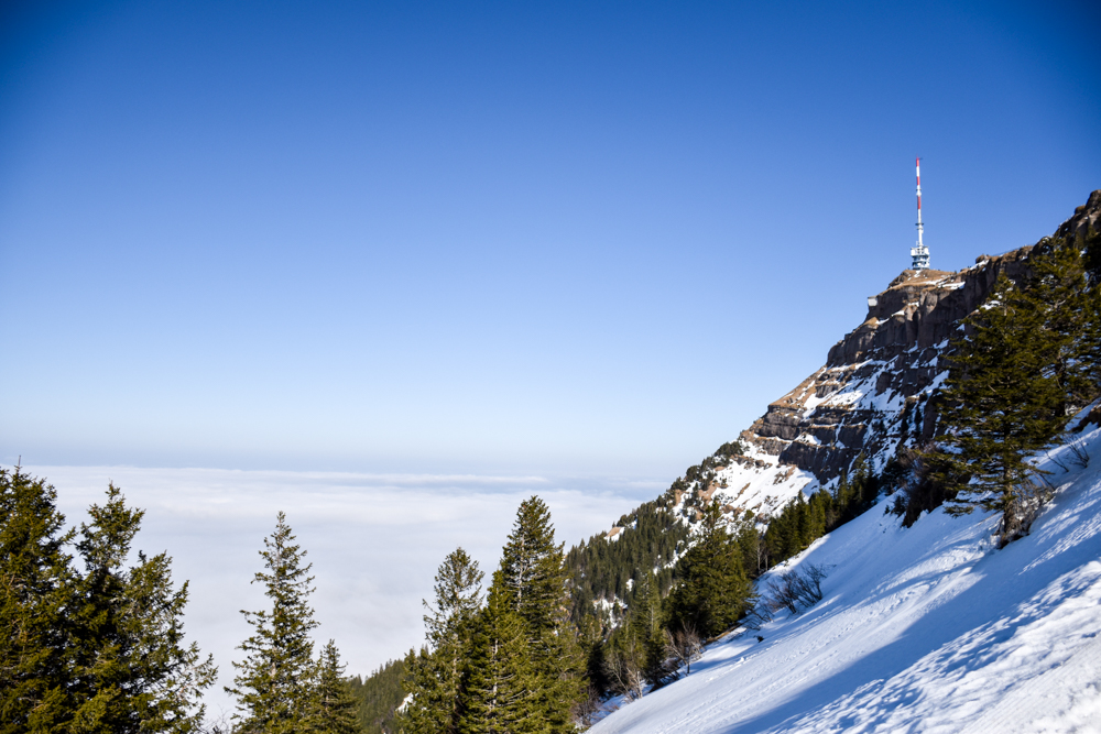Winterwanderung Rigi Ausflug Familie Zentralschweiz Rigi Kulm