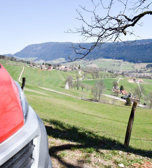 Camping Reise Jura: Von Basel nach Neuenburg entlang der Grand Tour of Switzerland
