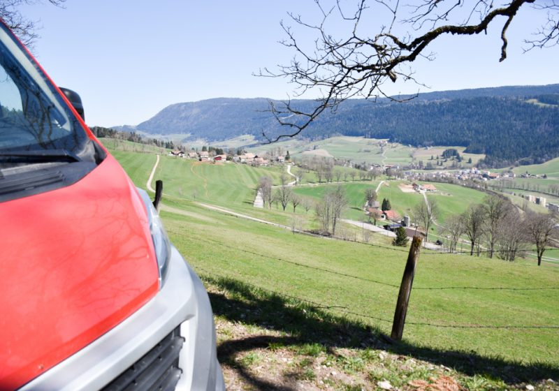Camping Reise Jura Schweiz