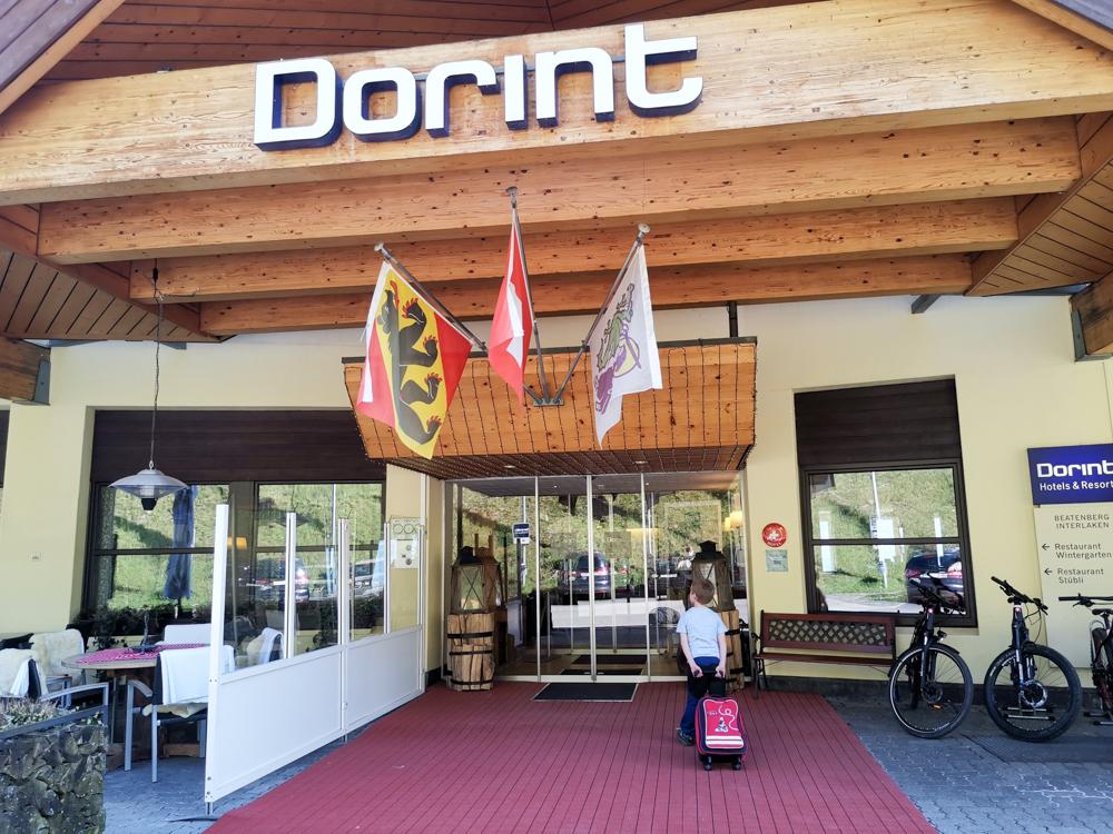 Interlaken Berner Oberland Schweiz mit Kind Ankunft Dorint Hotel Beatenberg