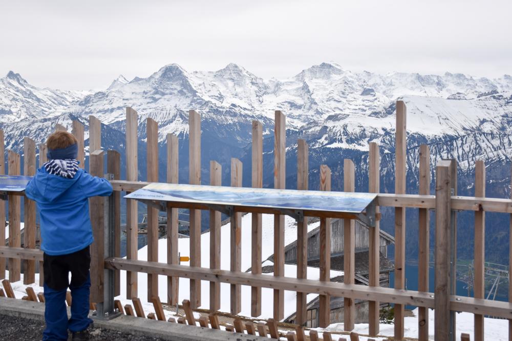 Interlaken Berner Oberland Schweiz mit Kind Gratweg Niederhorn