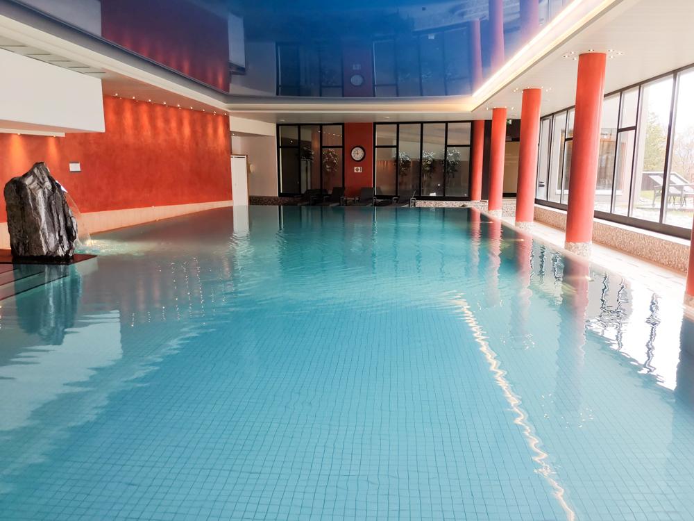 Interlaken Berner Oberland Schweiz mit Kind Schwimmbad Dorint Hotel Beatenberg