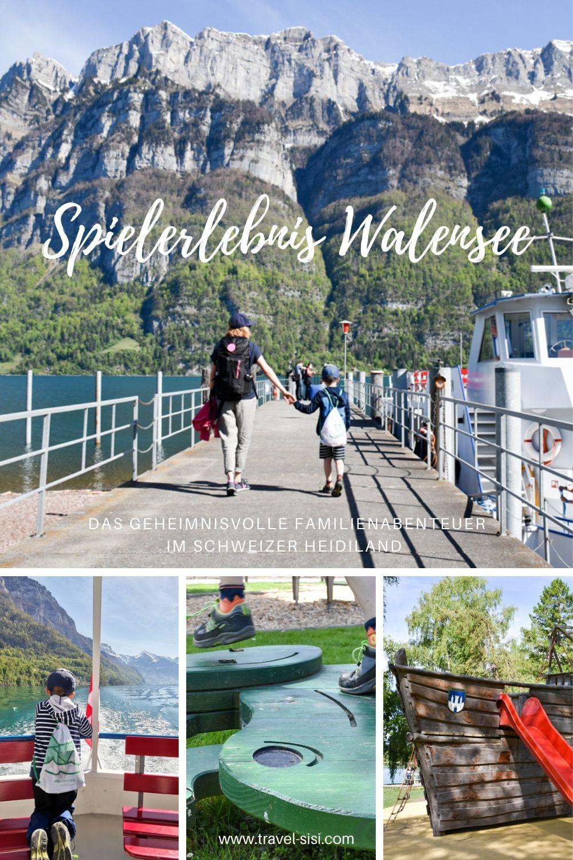 Spielerlebnis Walensee Familienabenteuer Heidiland Schweiz