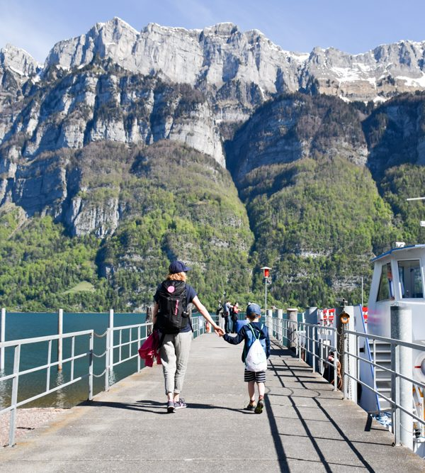 Spielerlebnis Walensee Heidiland Schweiz