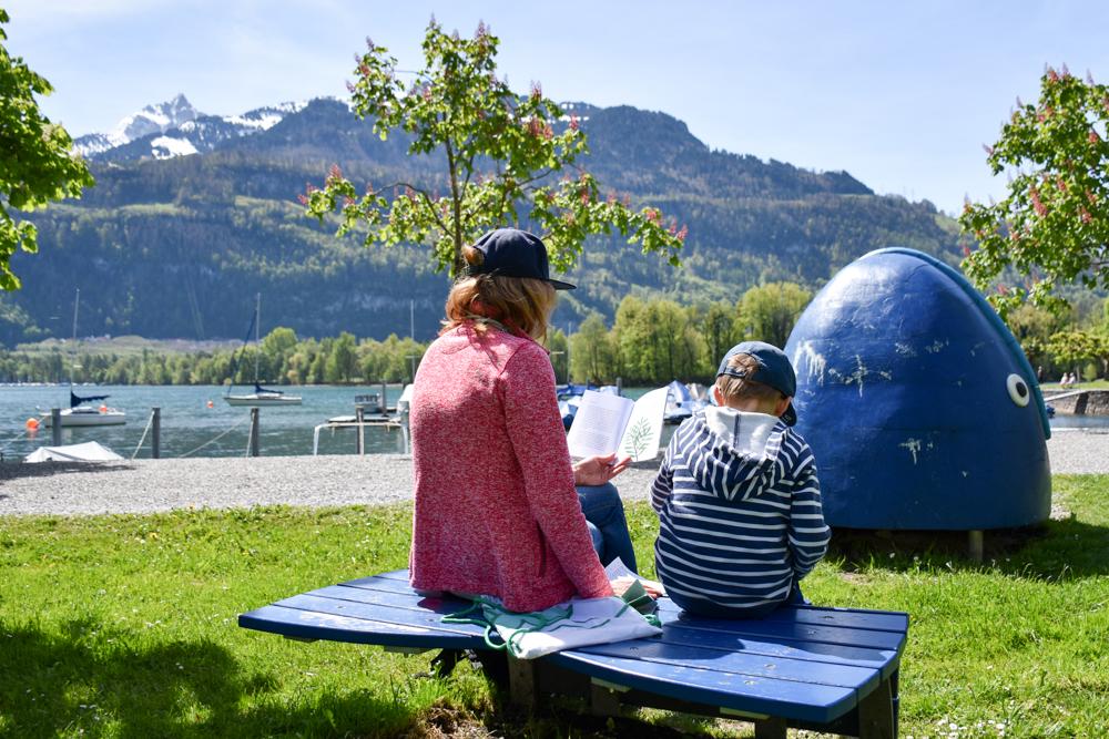 Spielerlebnis Walensee Heidiland Schweiz Buch Mara und das Geheimnis vom Walensee