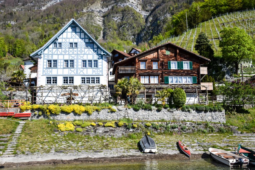Spielerlebnis Walensee Heidiland Schweiz Quinten