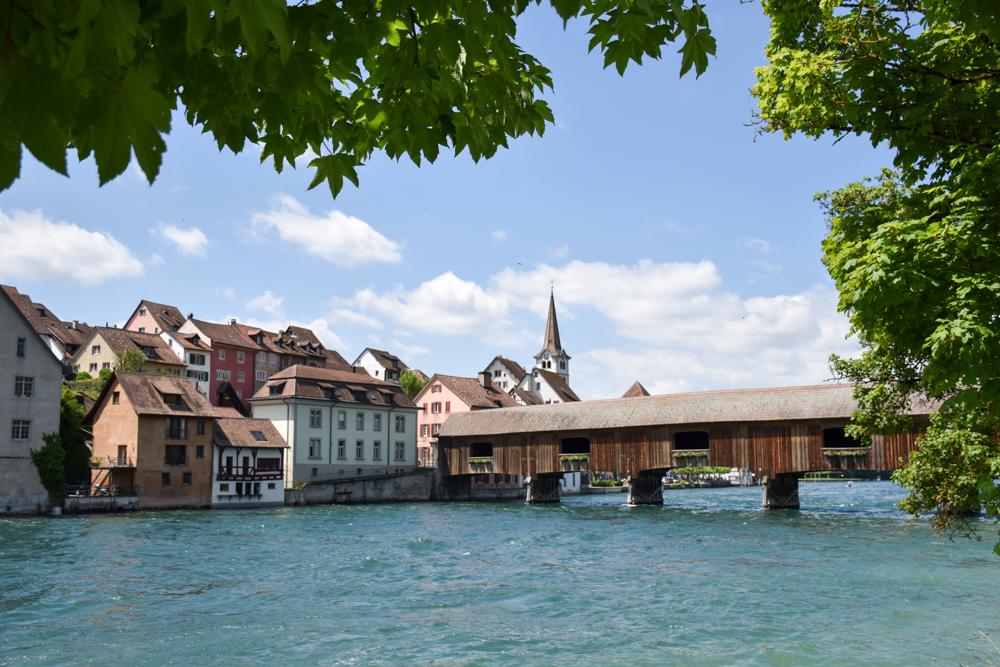 Familienroute Bodensee Rhein Bad Ragaz bis Schaffhausen Fahrradtour Schweiz Diessenhofen