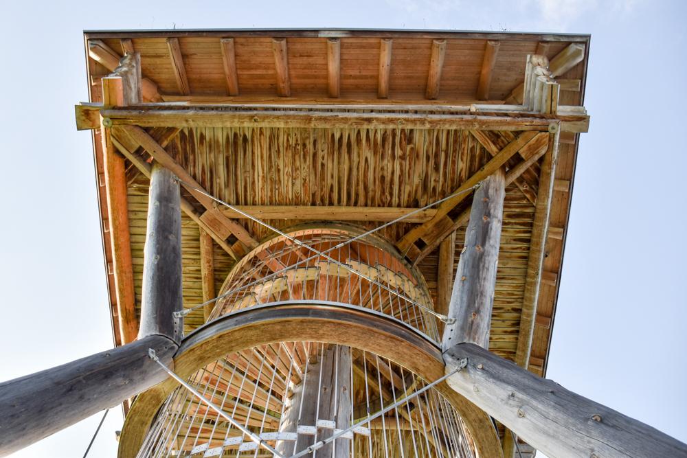 Familienroute Bodensee Rhein Bad Ragaz bis Schaffhausen Fahrradtour Schweiz Seeburgturm Kreuzlingen