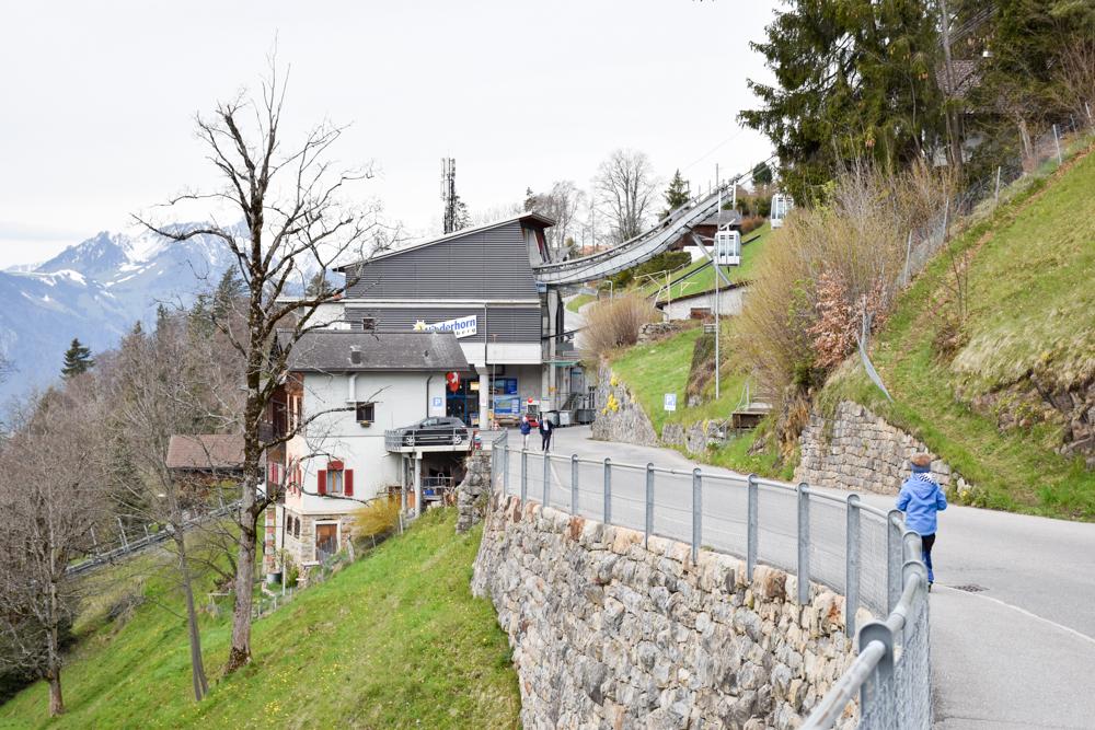 Unterkunftstipp Hotel Dorint Blüemlisalp Beatenberg Interlaken Schweiz Spaziergang Niederhornbahn