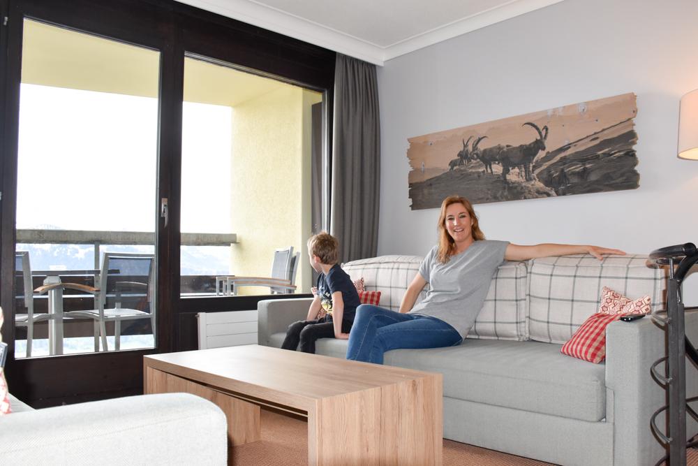 Unterkunftstipp Hotel Dorint Blüemlisalp Beatenberg Interlaken Schweiz Travel Sisi und kleiner Globetrotter im Appartement