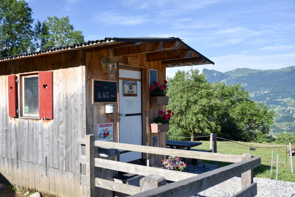 Lamatrekking Tipi Übernachtung Liechtenstein Hoflädeli
