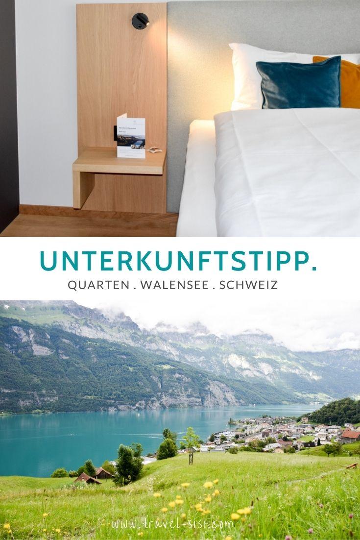Unterkunftstipp Quarten Walensee Schweiz