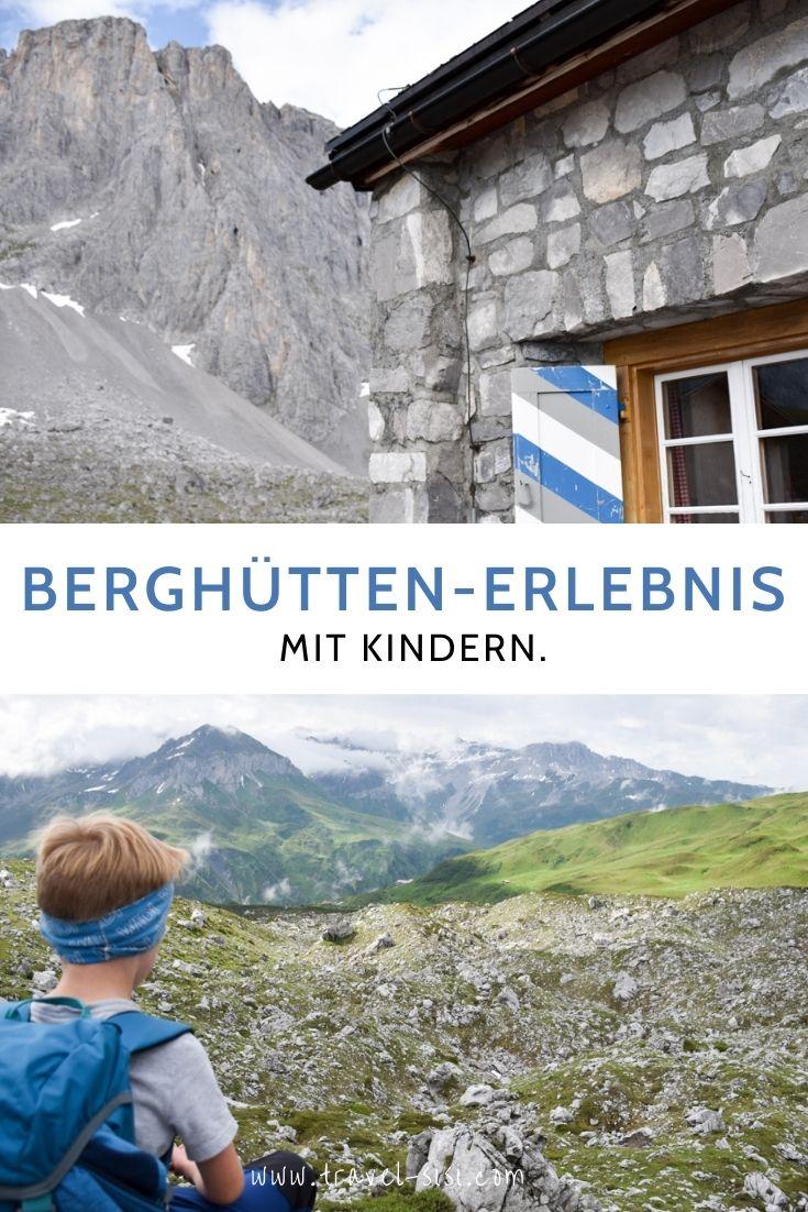 Berghütten Erlebnis mit Kindern Prättigau Graubünden Schweiz