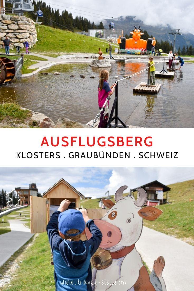 Ausflugsberg Madrisa Klosters Prättigau Graubünden Schweiz