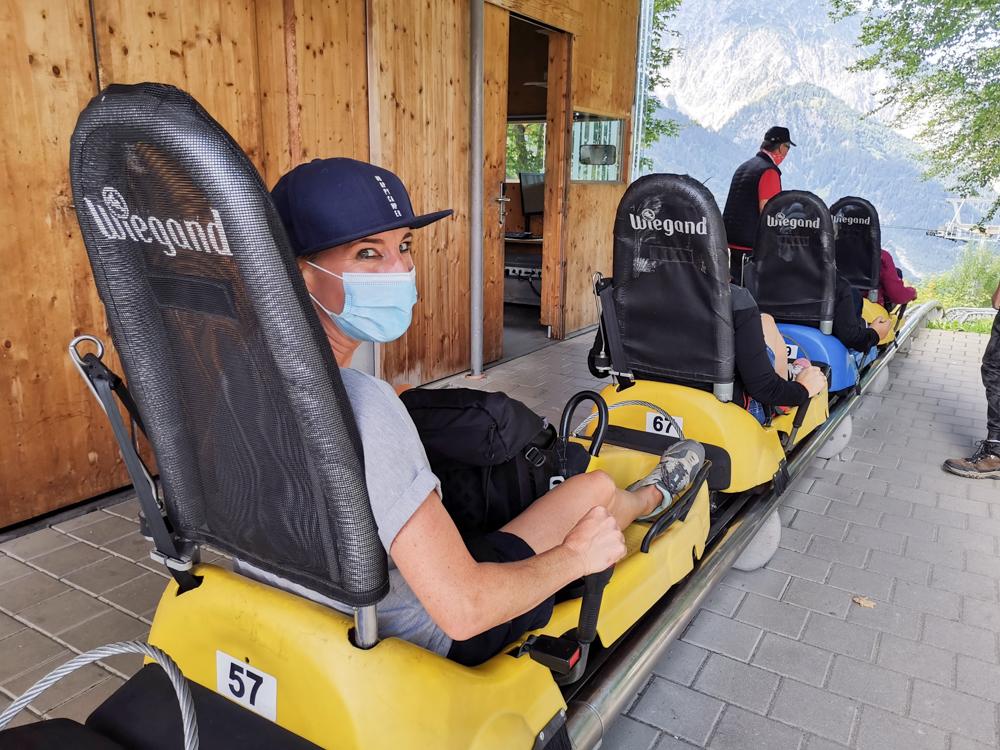 Ausflugstipp Erlebnisberg Golm Montafon Österreich Alpine Coaster Travel Sisi Esther Mattle