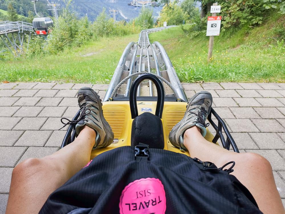 Ausflugstipp Erlebnisberg Golm Montafon Österreich Alpine Coaster