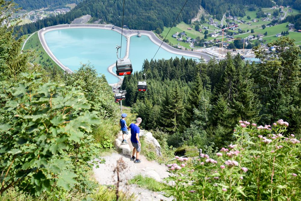 Ausflugstipp Erlebnisberg Golm Montafon Österreich Aussicht Waldrutschenpark