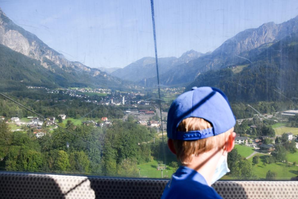 Ausflugstipp Erlebnisberg Golm Montafon Österreich Golmerbahn Aussicht