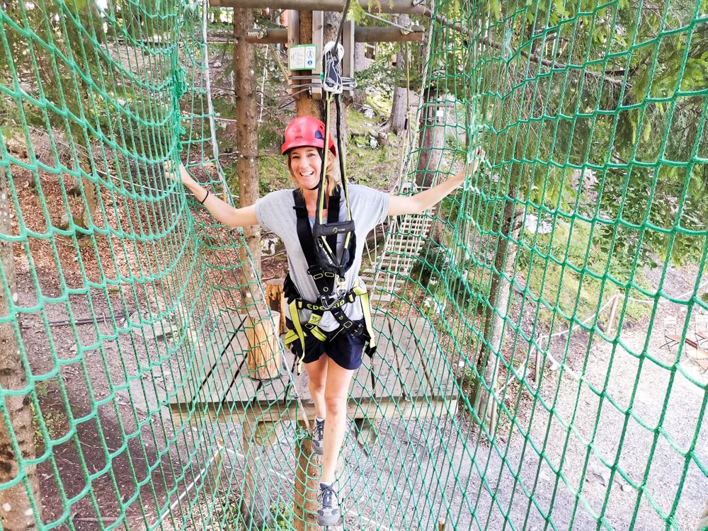 Ausflugstipp Erlebnisberg Golm Montafon Österreich Travel Sisi Esther Mattle Waldseilpark